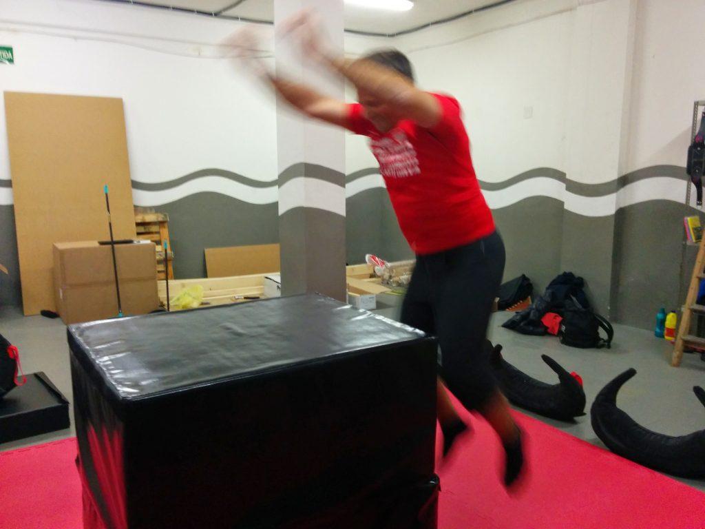 LynxCross jump