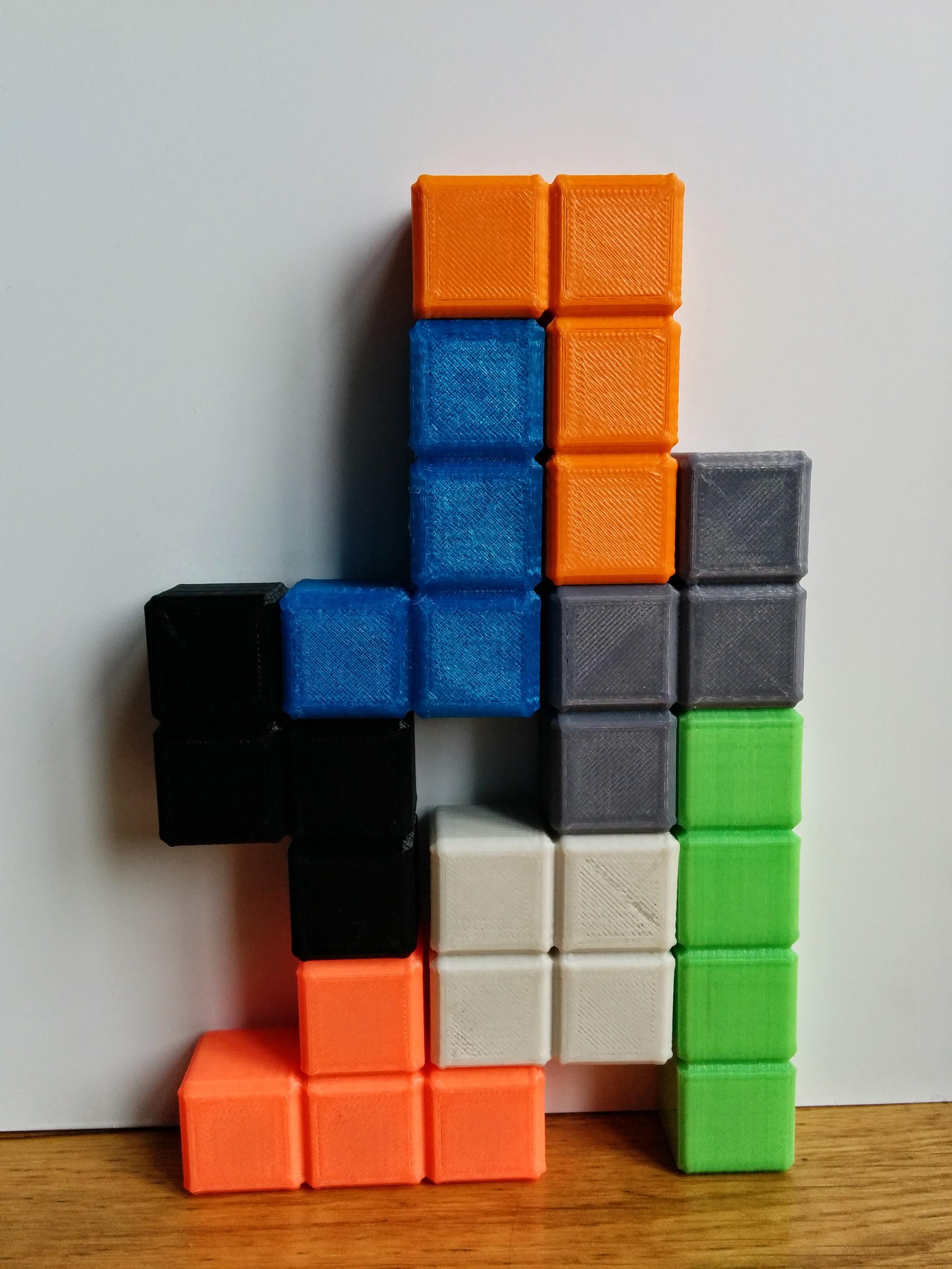 3DPrinted Tetris