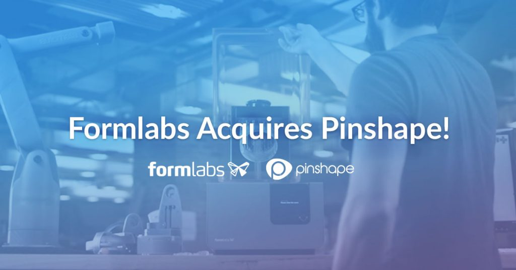 Pinshape joins Formlabs