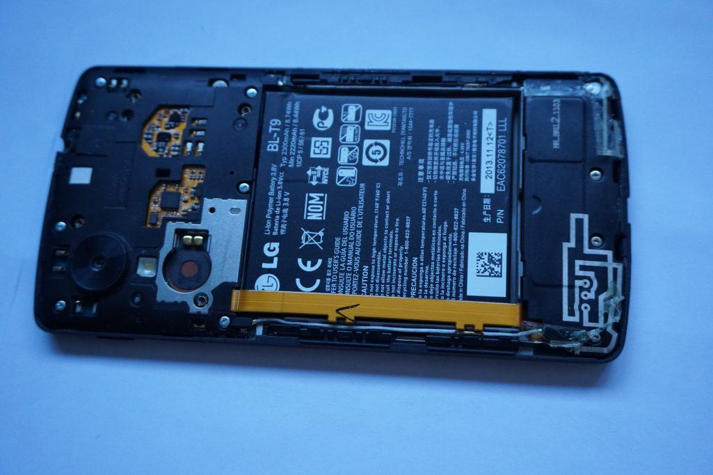 Nexus 5 sticky button solved