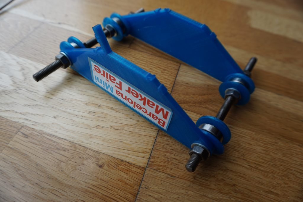 Old spool holder