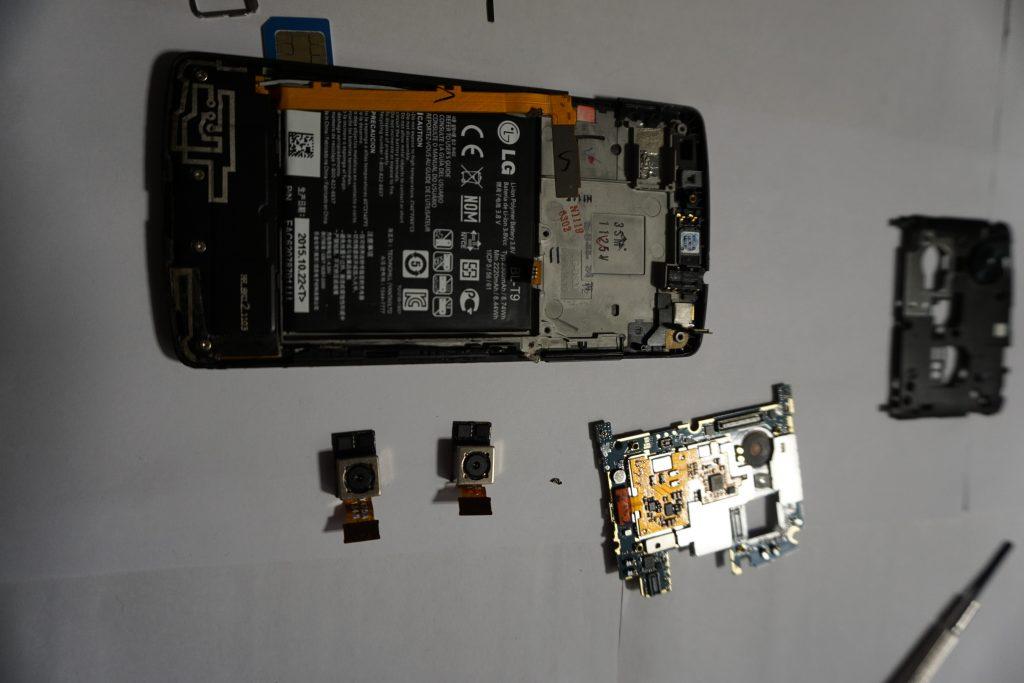 Nexus 5 sin cámara