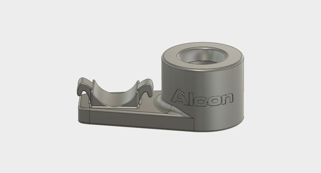 Soporte cirujía ojo Alcon modelo 3d