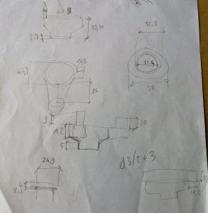cotas adaptador aspirador stepcraft