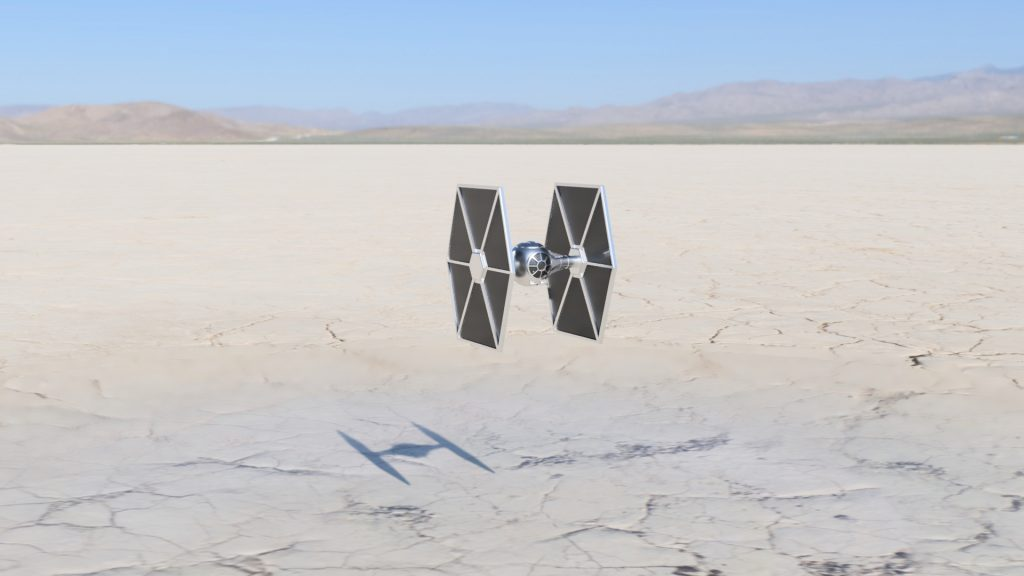 Tie Fighter curso Fusion 360