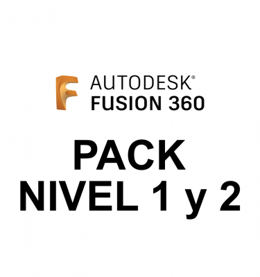 Fusion 360 pack niveles 1 y 2