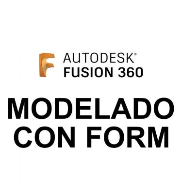 Curso Fusion 360 Modelado con Form